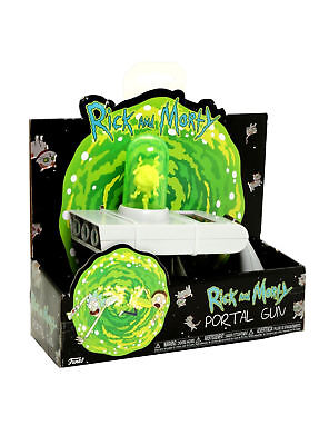 Official Rick and Morty Portal Gun Toy from Adult Swim Brand New UK SELLER