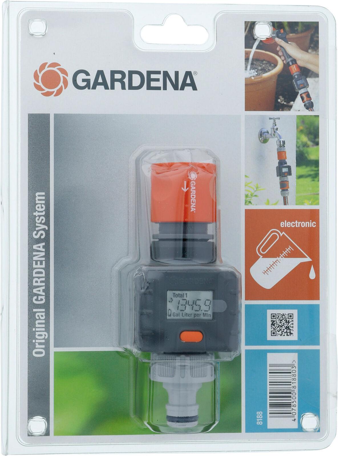 Wasserverbrauch Gardena Wassermengenzähler