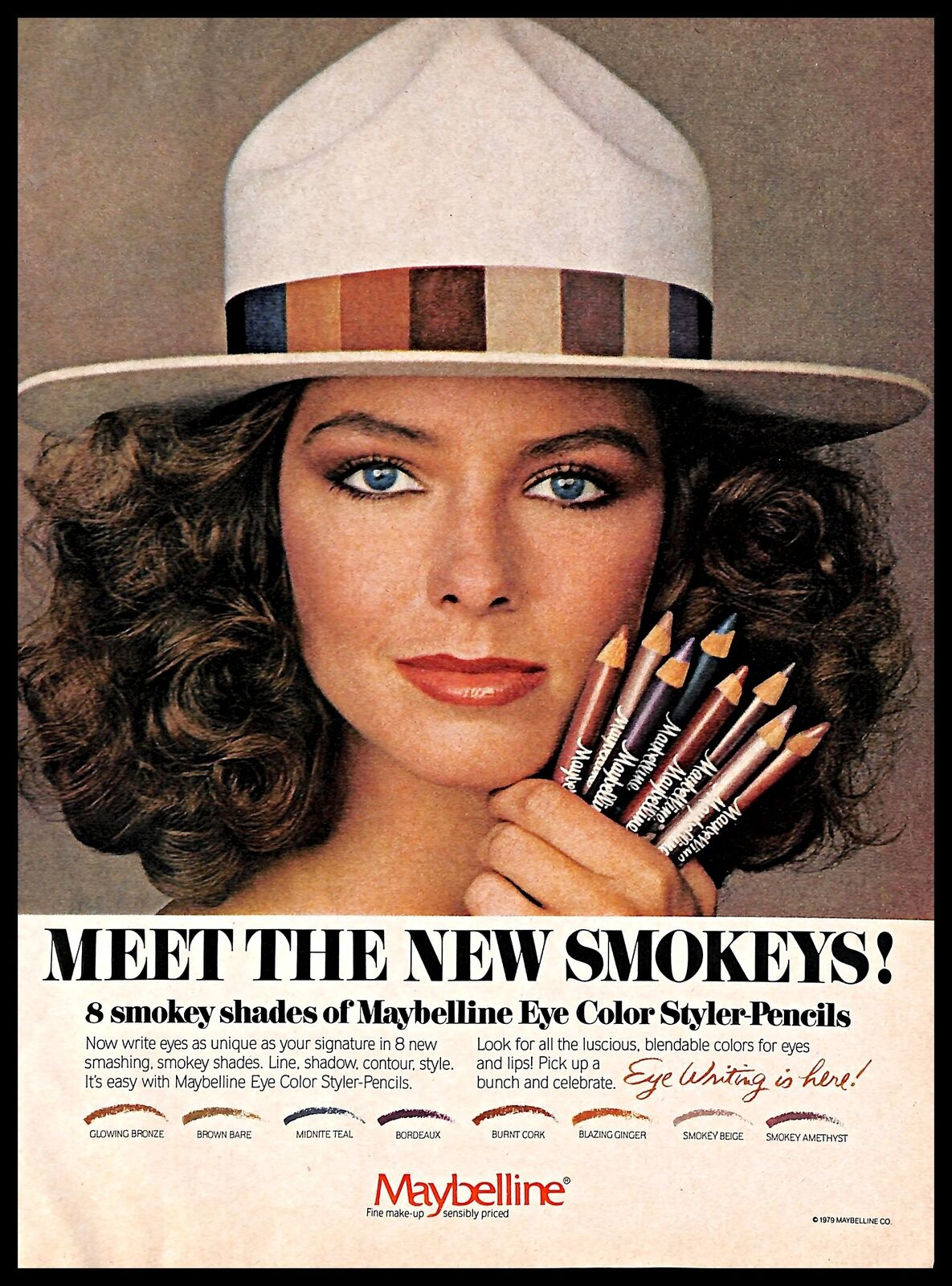 1979 Maybelline Eye Color Styler Pencils Vintage PRINT AD ...