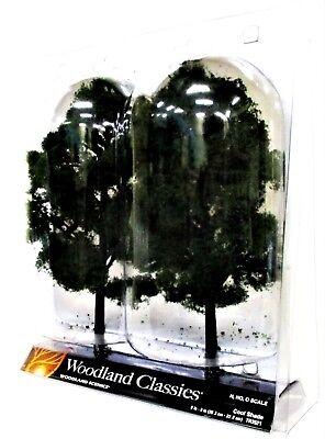 2 Pkg Ready Made - Woodland Classics Ready-Made Trees TR3521 Cool Shade - 2/pkg