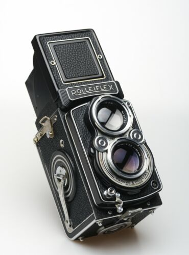 Rolleiflex 2.8A Red T, K7A V1 Fully Restored, Leather, Bright Screen, Tested