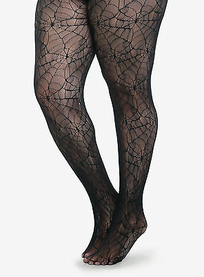 Web Tights (GOTHIC PLUS SIZE SPIDER WEB FISHNET LACE TIGHTS  1X/2X  3X/4X  COLLANT)