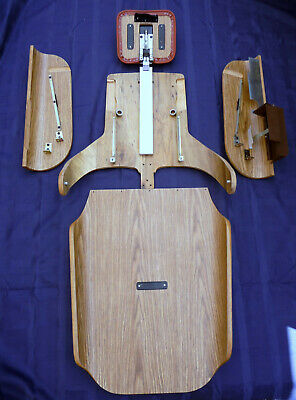Pelton Crane Chairman Dental Chair Wood Trimmer