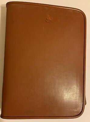 Stebco Tufide 3-ring Binder Portfolio- See Photos 4 Cover Cosmetic Flaws Name