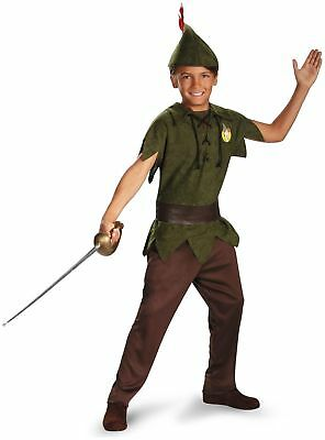 DISNEY CLASSICS LICENSED PETER PAN BOYS HALLOWEEN COSTUME TODDLER X-SMALL 5963M (Halloween Costume Peter Pan Toddler)