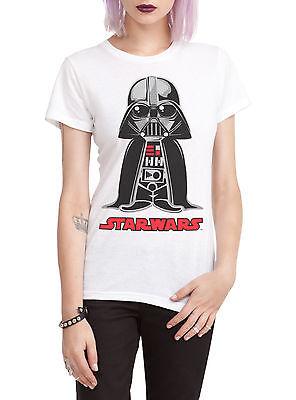 STAR WARS Darth Vader CHIBI TEE Womens GIRLS T Shirt DARK SIDE Anakin Skywalker - Darth Vader Girl