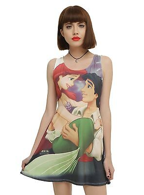 Women's Disney The Little Mermaid Ariel Eric Dress Skirt Tank Cosplay Costume, - Eric Little Mermaid Costume