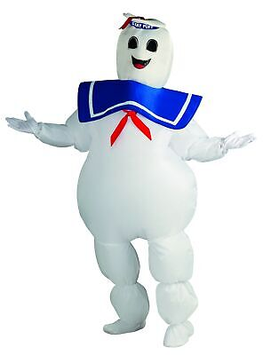 Rubies Ghostbusters Inflatable Stay Puft Marshmallow Man Costume White Standard - Marshmallow Man Costume