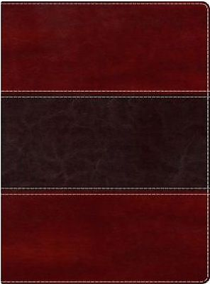 Nkjv Index Bible Mahogany Leather Touch Indexed Brand New