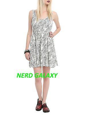 Doctor Who TARDIS Weeping Angel, Dalek Dress NEW! Juniors Large HER UNIVERSE - Dalek Dress