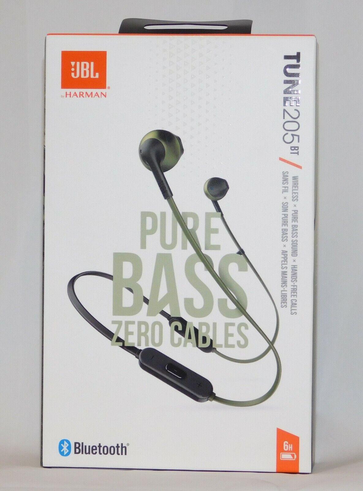 tune 205bt wireless bluetooth in ear headphones