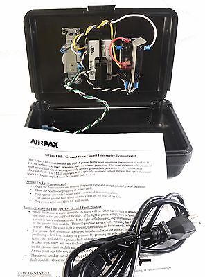 Airpax Lel Ground Fault Circuit Interrupter Demonstrator Lel Electrical Tester