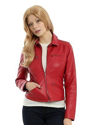 Disney Once Upon A Time EMMA Red Biker Jacket LICENSED JRS SZ 3XL ABC STUDIOS ()