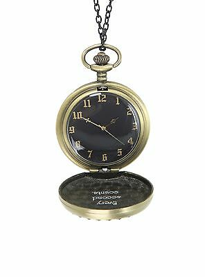 POCKET WATCH NECKLACE~HOT TOPIC~Alice Through the Looking Glass~NWT~Disney