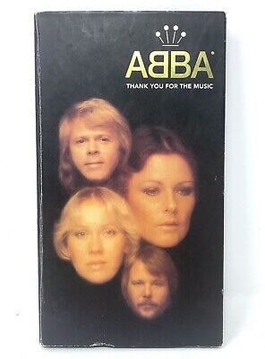 ABBA - THANK YOU FOR THE MUSIC - Limited Edition 4 CD BOX SET Polar BMG A&M 1994