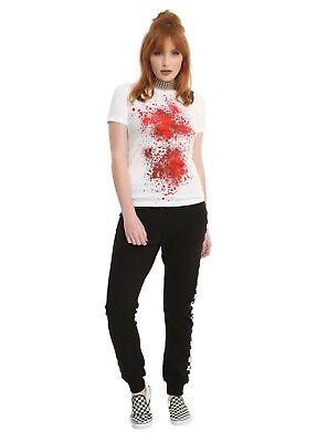 HALLOWEEN BLOOD SPLATTER GIRLS T-SHIRT