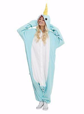 SAZAC Narwhal Kigurumi - Adult Costume from USA - Narwhal Costume