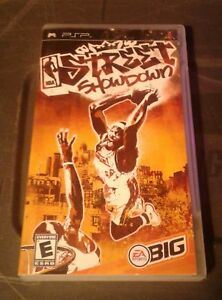 Sony psp game  nba street showdown  2005  tested