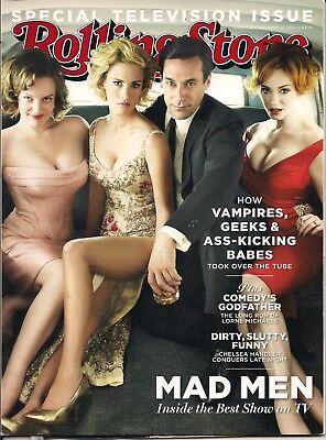 Mad Men Elisabeth Moss January Jones Jon Hamm Christina Hendricks Rs 2010 Tv Iss