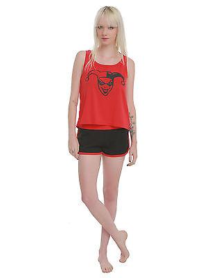 Harley Quinn DC Comics Sleep Set PJs Pajamas Short Hi Lo Tank Suicide Squad NWT](Harley Quinn Pjs)