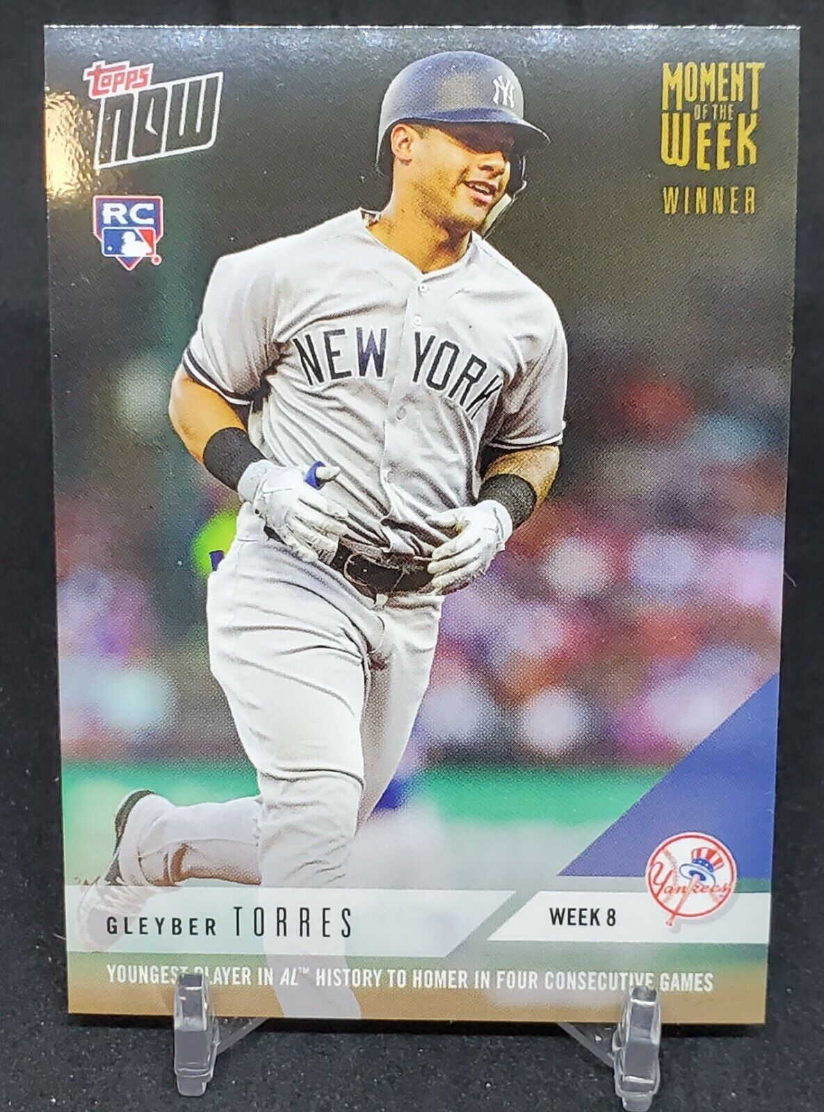 Card Attributes MOW-8W Gleyber Torres RC