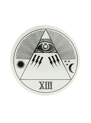 EVIL EYE SUN STARS MOON 13 EMO HALLOWEEN WITCH BUTTON COMPACT POCKET MIRROR](Moon 13 Halloween)