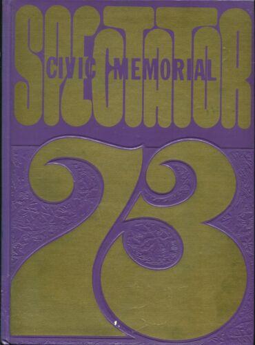 CIVIC MEMORIAL HIGH SCHOOL, BETHALTO, ILLINOIS YEARBOOK - SPECTATOR - 1973