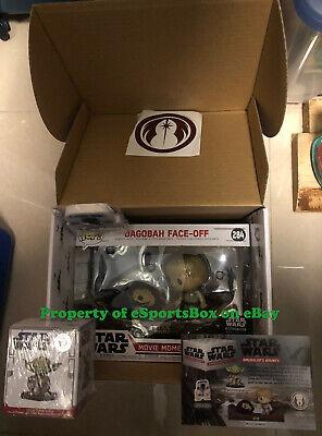 NEW Funko Star Wars Smuggler's Bounty Box, Dagobah Theme