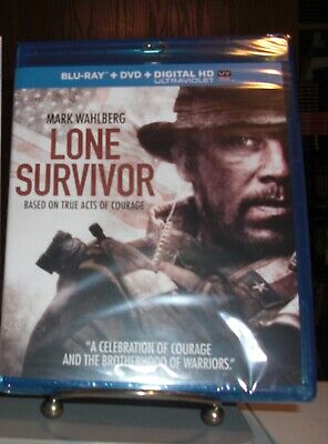 New & Sealed Lone Survivor Blu-ray / DVD / Digital Copy (2013) - Mark Wahlberg