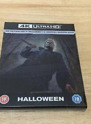 HALLOWEEN 4K UHD + BLU-RAY STEELBOOK DIGITAL UK LTD EDN NEW & SEALED ()