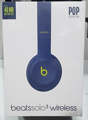 Beats by Dr. Dre | Solo3 Wireless On-Ear Headphones (Brand New, Pop Indigo)