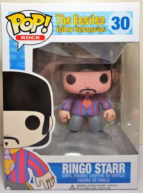 Funko Pop Ringo Starr # 30 The Beatles Yellow Submarine Vinyl Figure