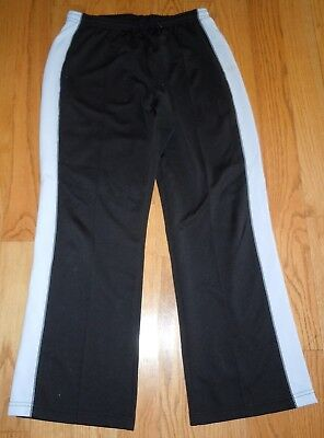 WOMENS VITAL ATHLETIC YOGA WORKOUT PANTS SHORTS CAPRIS STRETCH BLACK BABY BLUE L