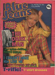 Blue Jeans Magazine 30 May 1981 No. 228   Ultravox   Freddie Mercury