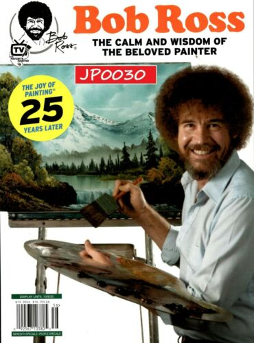 People Special 2020, Bob Ross, The Joy Of Painting 25 Years Later, New/Sealed