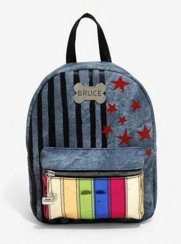 Harley Quinn Backpack Bag DC Comics Birds Of Prey Bioworld NEW