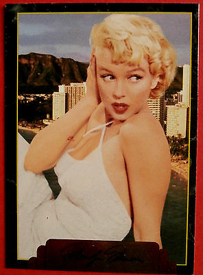 """""""Sports Time Inc."""" MARILYN MONROE Card # 101 individual card, issued in 1995"""