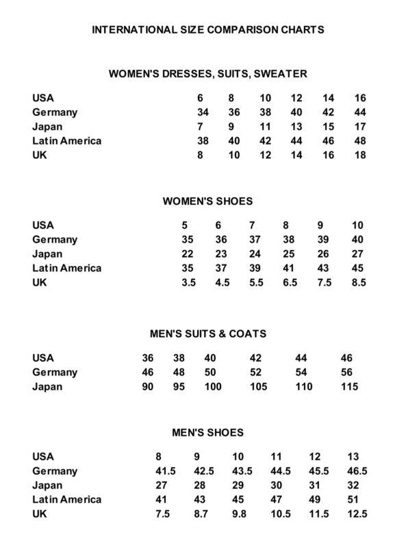new balance 574 size chart