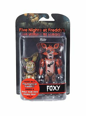 "FNAF Five Nights At Freddy's Articulated FOXY  5"" Collectible Action Figure New"
