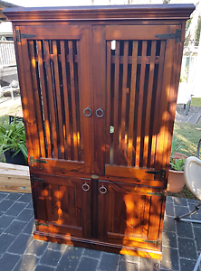Bali style TV cabinet unit Charmhaven Wyong Area Preview