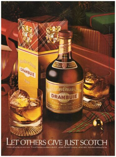 Original 1983 Drambuie Prince Charles Edward