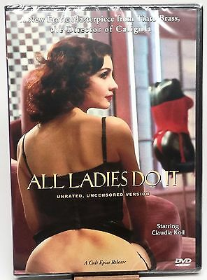 ALL LADIES DO IT (SPECIAL EDITION) TINTO BRASS CLAUDIA KOLL NEW & SEALED EROTICA