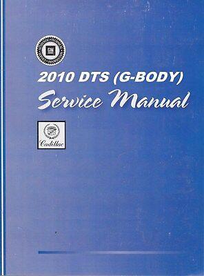 2010 Cadillac DTS DeVille Service Repair Shop Manual-3 Volume Book Set GMP10KS