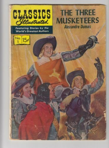 Classics Illustrated #  1 The Three Musketeers