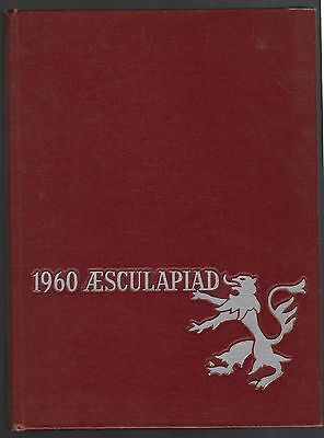 1960 HARVARD UNIVERSITY MEDICAL AND DENTAL SCHOOL YEARBOOK AESCULAPIAD