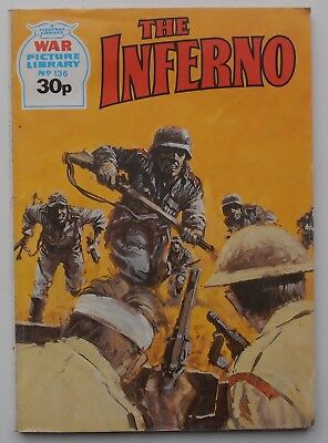 WAR PICTURE LIBRARY THE INFERNO  ISSUE 136 1987