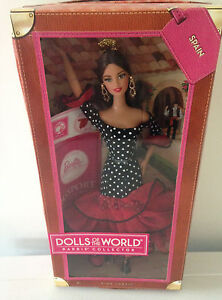 BARBIE COLLECTOR  DOLLS OF THE WORLD  SPAIN  DOLL  X8421