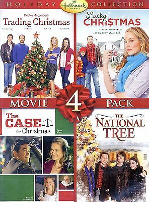 4 Hallmark Christmas Holiday movies, new DVDs National Tree Dean Cain Faith Ford ()