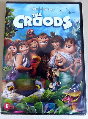 !!! DVD NEUF - THE CROODS - DreamWorks - FR/EN/NL !!!