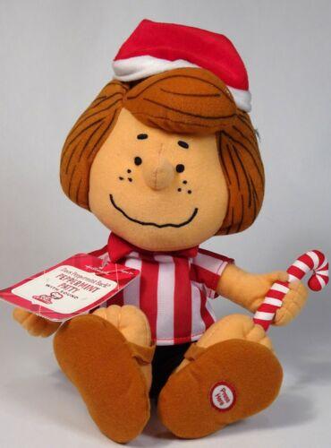 "HALLMARK Christmas Plush Peanuts 8"" PEPPERMINT PATTY Talking Doll, Stuffed"
